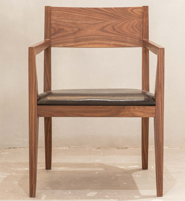 Luomu Walnut Armchair 胡桃木扶手椅