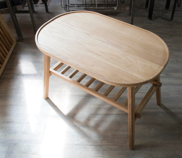 香港送貨|Delivery to HK | Sprue White Oak Folding Coffee Table 白橡木可折疊茶几 | Sprue Furniture |Homie Living Mall 香港家居靈感購物