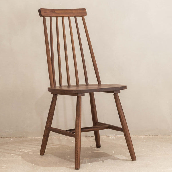 Luomu Solid Walnut Windsor Chair 胡桃實木温莎椅子