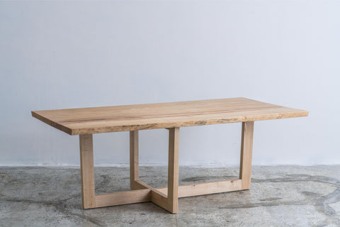 omós Live Edge Ash Table  白蠟木Live Edge木邊桌