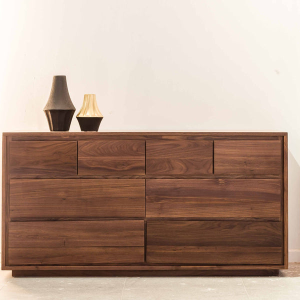 Luomu Solid Walnut Chest of 8-Drawer 胡桃木實木坐地8格儲物櫃