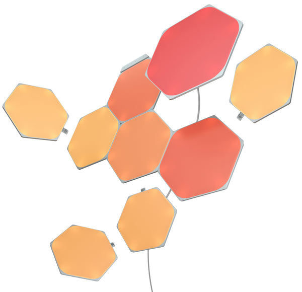 香港送貨|Delivery to HK | Nanoleaf Shapes Hexagons智能拼裝照明燈Smarter Kit (9個六角形燈板) | Hong Kong Lava Holdings Company Limited |Homie Living Mall 香港家居靈感購物
