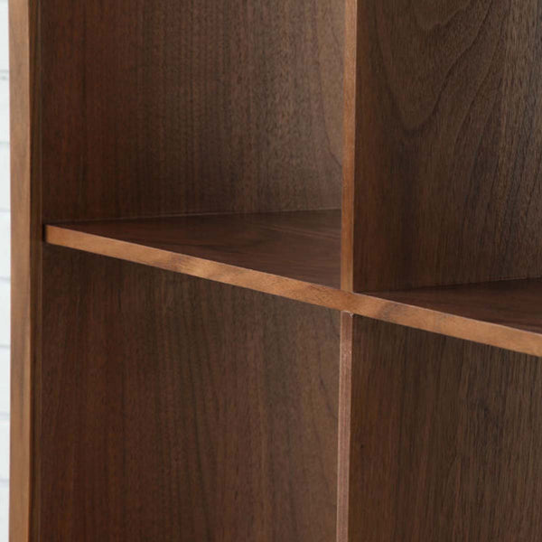 Luomu Walnut 3x3 Square Shelf 胡桃木置物書架