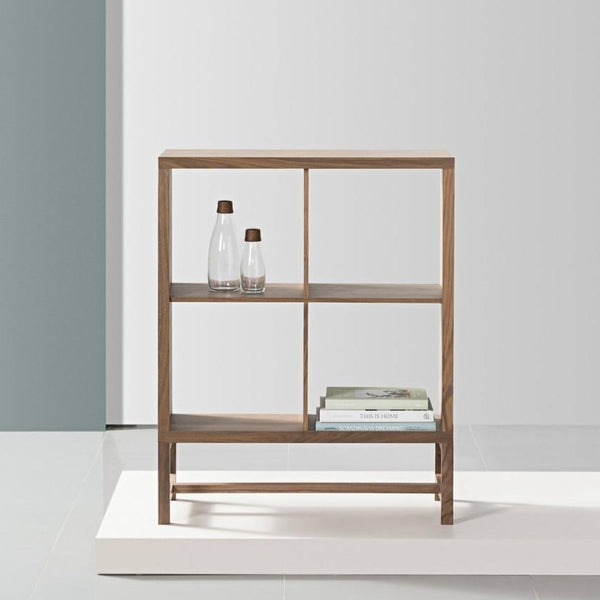 Luomu Walnut 2x2 Square Shelf 胡桃木置物書架