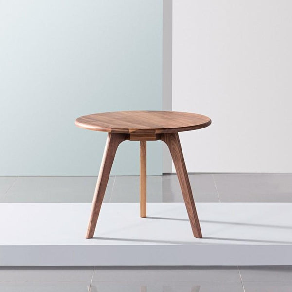 Luomu Solid Walnut Round Coffee Table 胡桃實木圓茶几