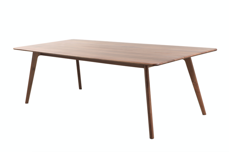 香港送貨|Delivery to HK | Luomu Walnut Dining Table 胡桃實木餐枱 | Luomu |Homie Living Mall 香港家居靈感購物
