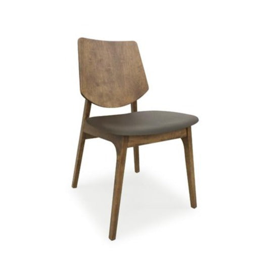 TAKUMI Calla Chair 皮藝胡桃木椅