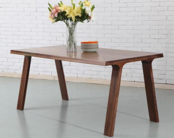 Luomu Solid Walnut Rectangular Table 長方形胡桃實木餐桌