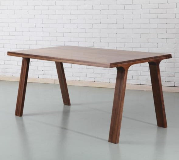 香港送貨|Delivery to HK | Luomu Solid Walnut Rectangular Table 長方形胡桃實木餐桌 | Luomu |Homie Living Mall 香港家居靈感購物