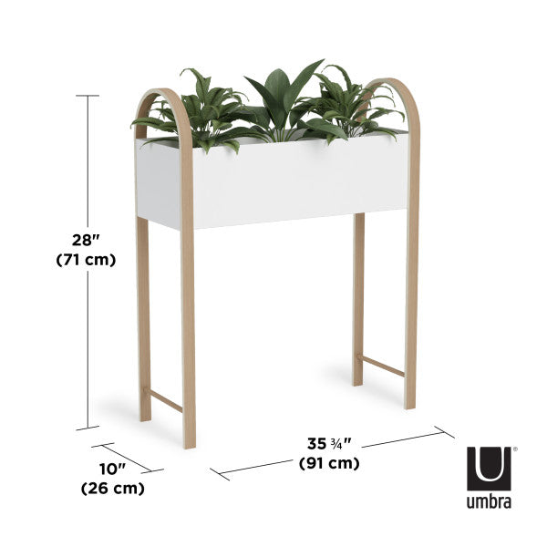 香港送貨|Delivery to HK | Umbra BELLWOOD 花盆 STORAGE/PLANTER | Umbra |Homie Living Mall 香港家居靈感購物