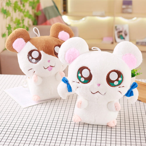 20cm Cute Hamster Mouse Plush Toy Stuffed Soft Animal Hamtaro Doll Lovely Kids Baby Toy Kawaii Birthday Gift for Children