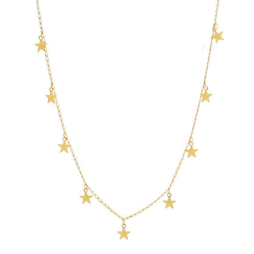 Fashion Star Pendant Necklace