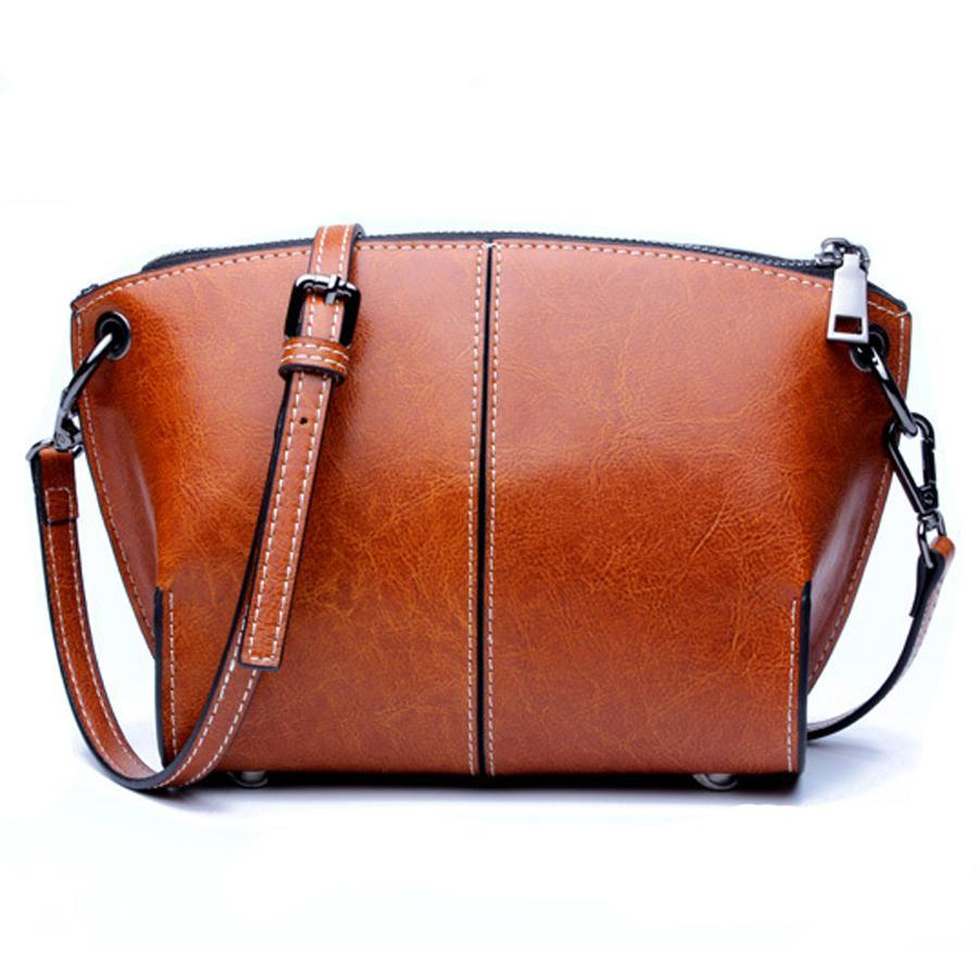 DUSUN Shoulder Bags Women Designer Genuine Leather Messenger Bag Female Vintage Fashion Crossbody Bags Woman Bolsa 2017