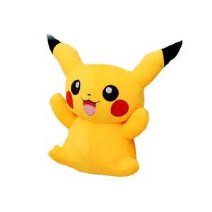 1pc 22cm Pikachu Plush Toys Cute Stuffed Soft Animal Dolls Children Toys Cartoon Movie Tv Kids Christmas Gift