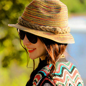 Women Summer Straw Sunhat For An Elegant Day By The Seaside