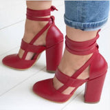 HipHop Girls Factory Price Sexy Gladiator High Heels