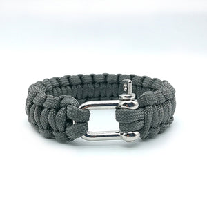 Handmade Survival Paracord Bracelet for Outdoor Camping