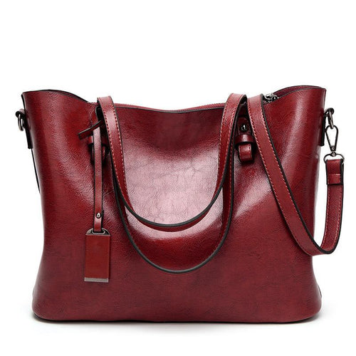 Elegant, High-End Big Shoulder Bag
