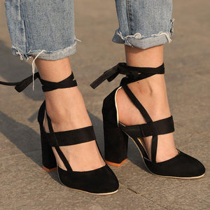 Ankle Strap High Heel Fashion Gladiators