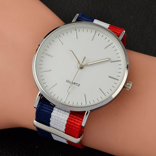 Designer Watch With Multicolour Band