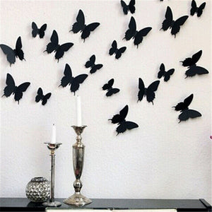 3D DIY Butterfly Wall Stickers - Awesome for adding a unique charm to your home