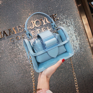Transparent Luxury Tote Shoulder Bag