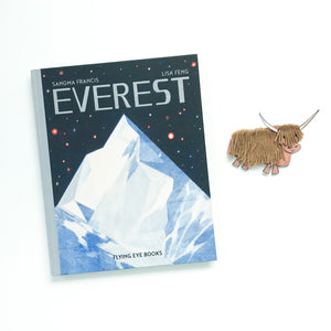 Everest + A Printable Yak Craft