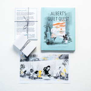 Albert's Quiet Quest | Children's Book Subscription