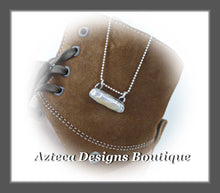 Load image into Gallery viewer, Pearl Stick+Hand Fabricated Sterling Silver+Bar Necklace+Simply Her