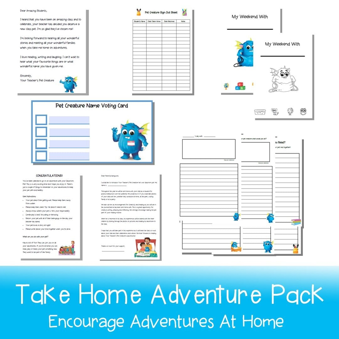 Take-Home Adventure Pack - Blue