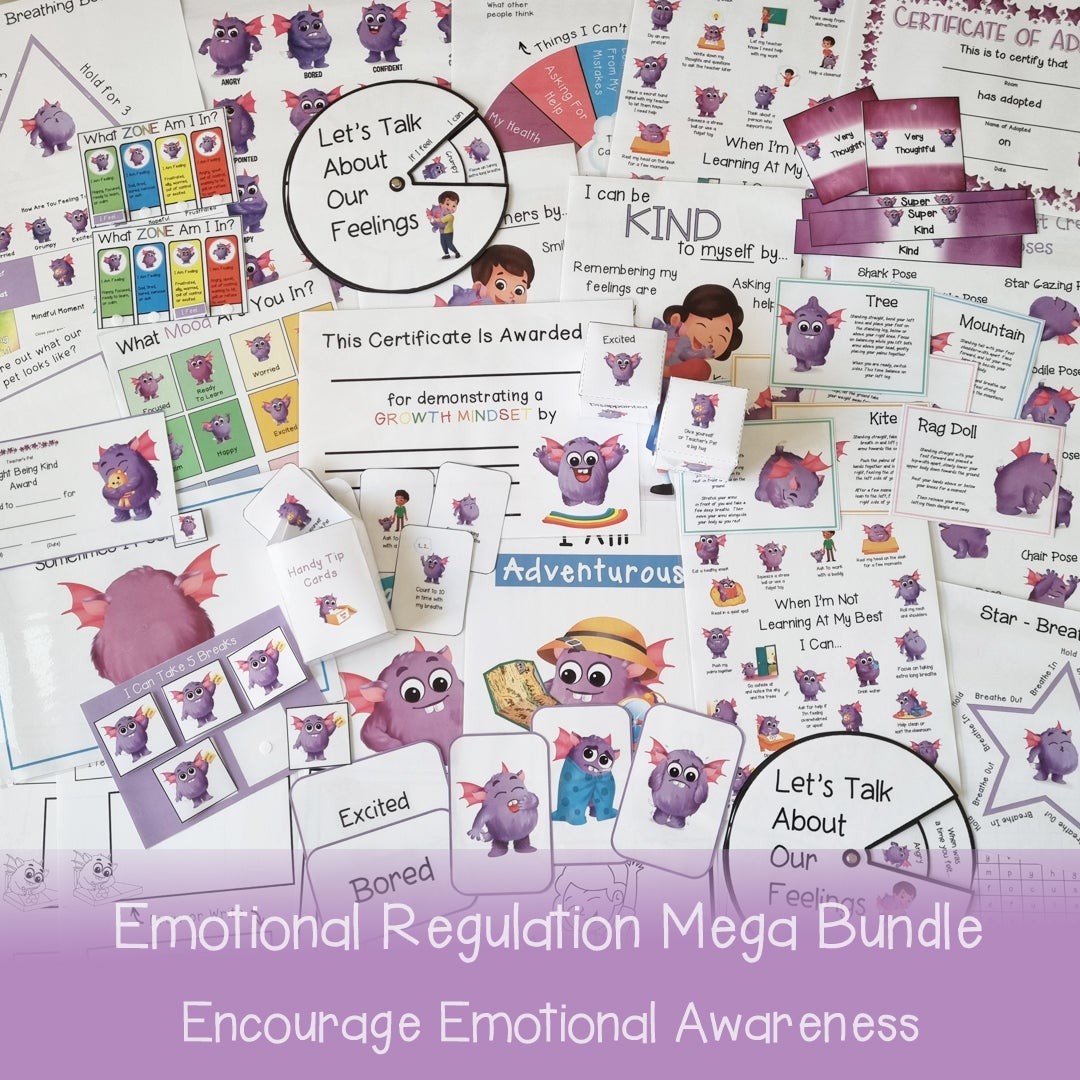 Emotional Regulation Mega Bundle
