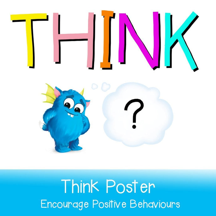 THINK Poster-Your Teacher's Pet Creature-Your Teacher's Pet Creature