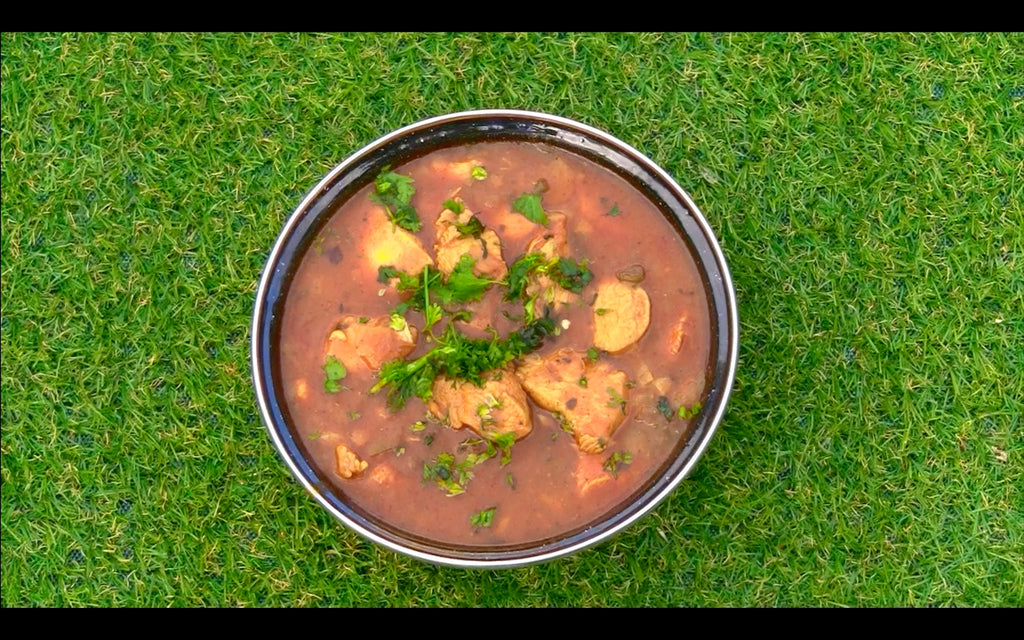 Camp Oven - Chicken Curry Recipe Easy