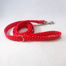 """Red Polka Dot"" Leash"