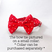 """Red Polka Dot"" Bow Tie"