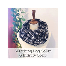 """Shiloh"" Dog Collar and Infinity Scarf"