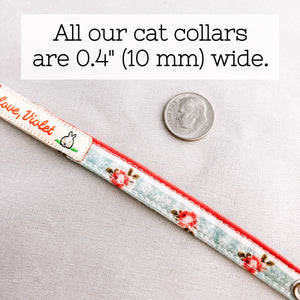 """Farmhouse Dreams"" Cat Collar"