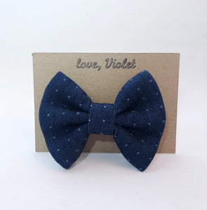 """Peace and Love"" Bow Tie"