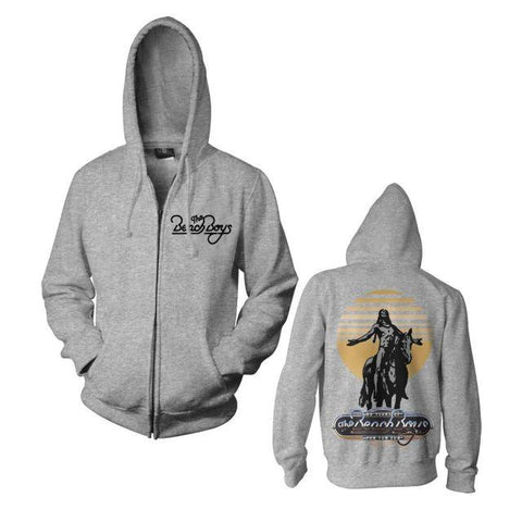 50th Anniversary Zip-Up Heather Grey