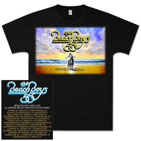 50th Anniversary Tour Tee Black