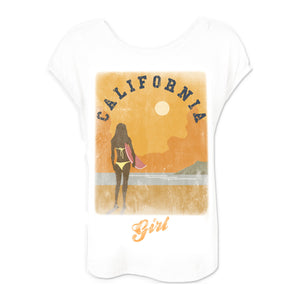 Beach Boys Cali Girl Dolman White