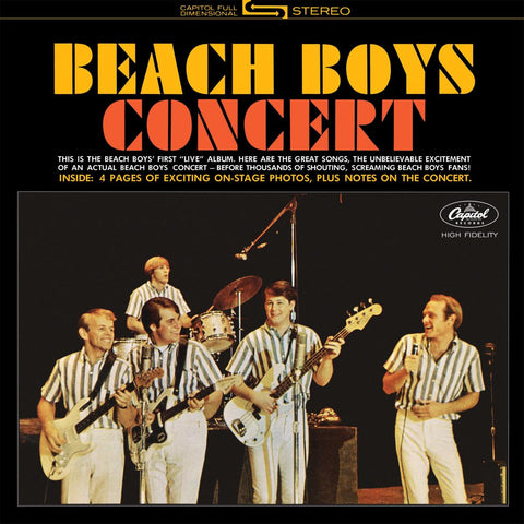Beach Boys Concert - Vinyl LP
