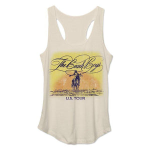 Beach Boys Sunset Junior Tank Top Tan