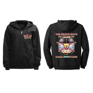 Good Vibrations Black Tour Hoodie