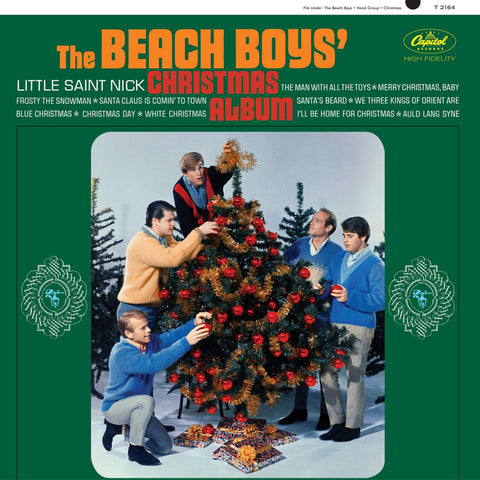 The Beach Boys Christmas Album Vinyl