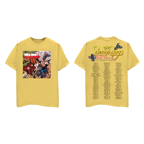 Wild Honey Yellow Tour T-Shirt