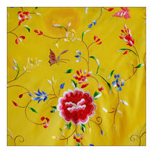 Load image into Gallery viewer, Wild Flower  (Bright Yellow with Mulit Color Embroidery)