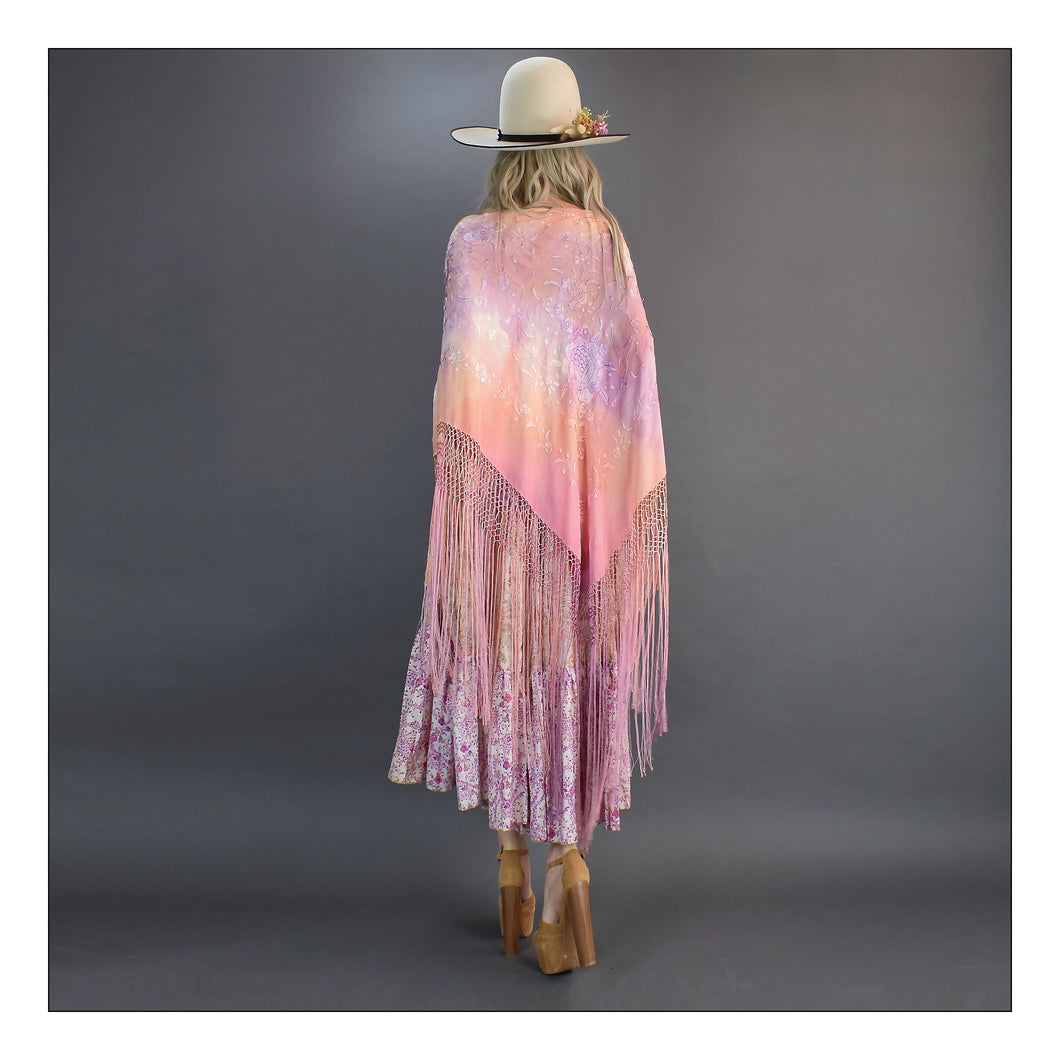 You see your Gypsy  (Pink/Peach/Purple Tie-Dye)