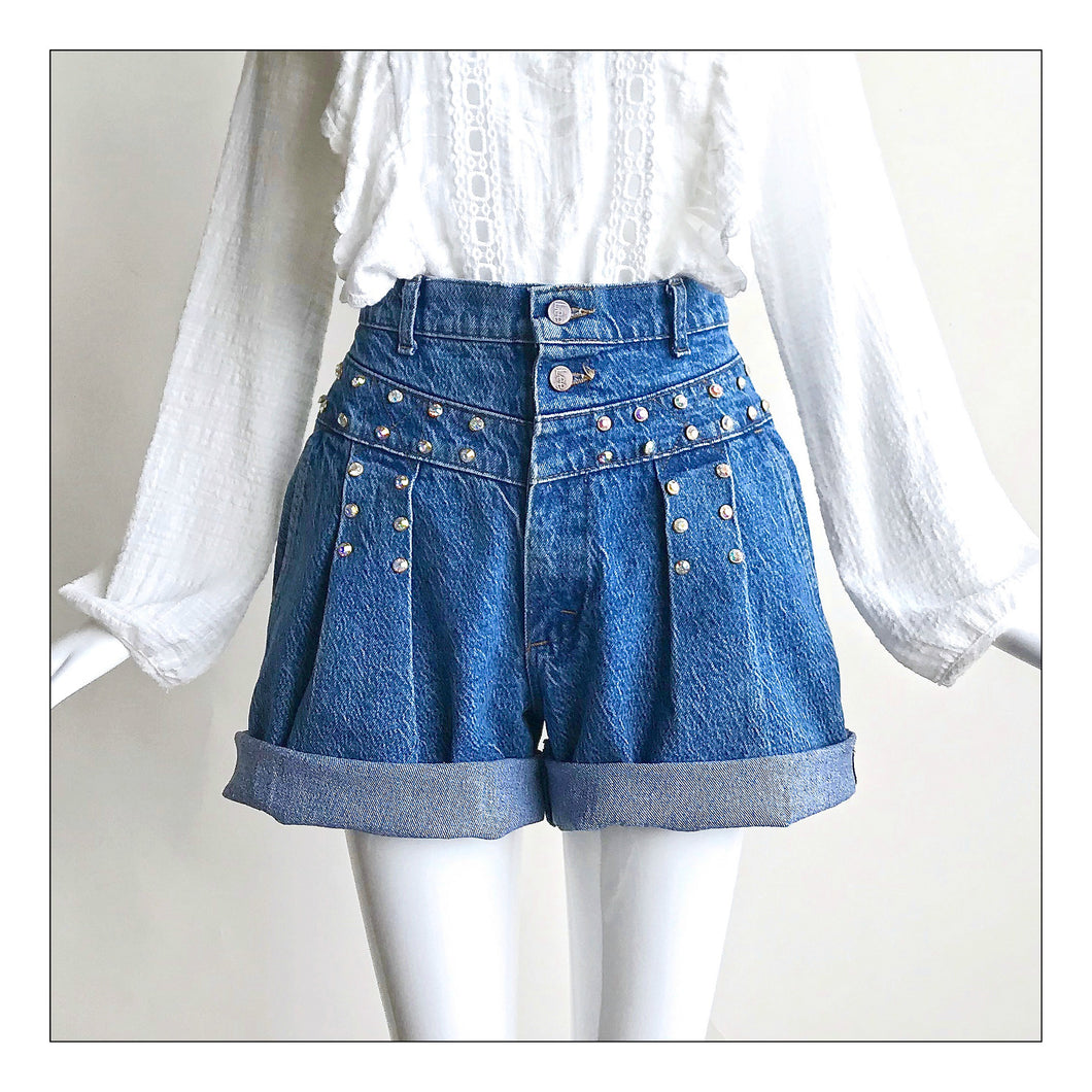 Blue Jean Baby (double pleat)