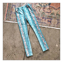 Load image into Gallery viewer, Snake Charmer Skinny (Turquoise)